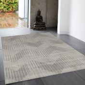 Cosmos 09 Crest Neutral Rug by Asiatic