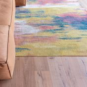 Atlantic Monetti 9117 Hydrangea Mix Flatweave Rug by Louis De Poortere