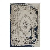 Ballerina 740 Grey Blue Traditional Rug by Unique Rugs