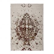 Ballerina 700 Ivory Orange Traditional Rug by Unique Rugs