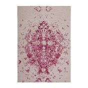 Ballerina 700 Ivory Pink Traditional Rug by Unique Rugs