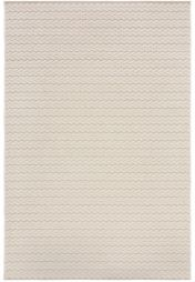 Basento Cable Natural Flatweave Rug by Flair Rugs