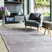 Bellagio Silver Handmade Viscose Rug by Asiatic