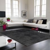 Blade Charcoal Modern Classy Rug by Asiatic