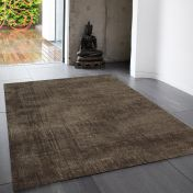 Blade Chocolate Modern Classy Rug by Asiatic