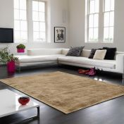 Blade Soft Gold Modern Classy Rug by Asiatic