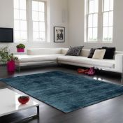 Blade Teal Modern Classy Rug By Asiatic