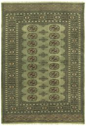Bokhara Green Traditional Wool Rug by Asiatic
