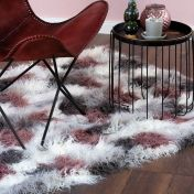 Boogie BOG 931 Multi Shaggy Rug by Unique Rugs