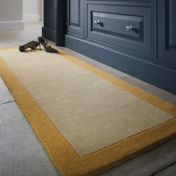 Borders Ochre Wool Runner by Origins