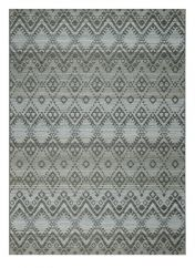Brighton 098 0004 3045 99 Grey Geometric Rug by Mastercraft