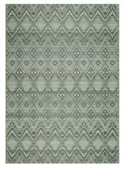 Brighton 098 0004 4019 99 Green Geometric Rug by Mastercraft