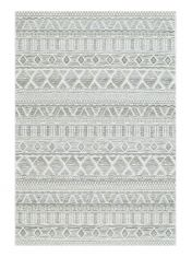 Brighton 098 0008 3051 99 Silver Geometric Rug by Mastercraft