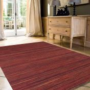 Brighton 098 0122 1000 99 Red Striped Rug by Mastercraft