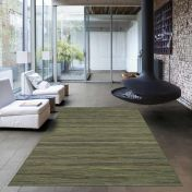 Brighton 098 0122 4000 99 Green Striped Rug by Mastercraft