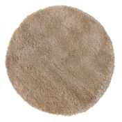 Brilliance Sparks Beige Circle Rug by Flair Rugs