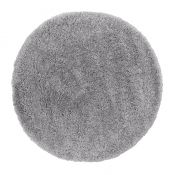 Brilliance Sparks Grey Circle Rug by Flair Rugs