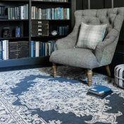 Bronte Fine Loop Shadow Wool Rug by Asiatic