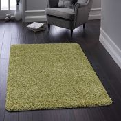 Buddy Olive Washable Plain Rug By Origins