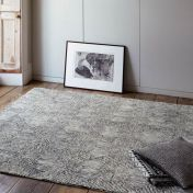 Camden Black/White Geometric Wool Rug by Asiatic