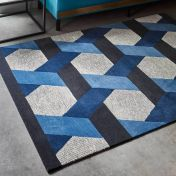 Camden Blue Wool Rug by Asiatic