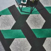 Camden Green Wool Rug by Asiatic