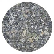 Canyon 052 - 0023 3535 Black Abstract Contemporary Circle Rug by Mastercraft