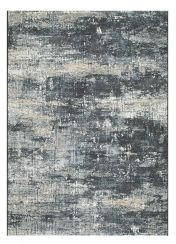 Canyon 052 - 0055 3535 Black Abstract Contemporary Rug by Mastercraft