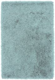 Cascade Duck Egg Luxury Polyester Rug by Asiatic