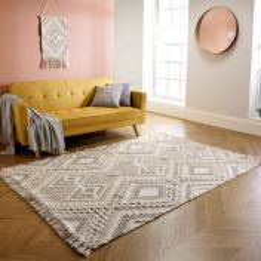 Catalina Blush Wool Rug by Oriental Weavers