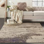 Celestial CES02 Ivory Grey Rug by Nourison