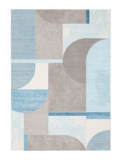 City 466109 AK500 Blue Contemporary Rug by Mastercraft