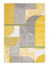 City 466109 AK700 Ochre Contemporary Rug by Mastercraft