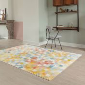 City 466116 AK991 Multi Contemporary Rug by Mastercraft