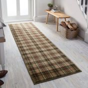Cocktail Highland Green Runner by Flair Rugs