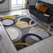 Cocktail Vesper Ochre Rug by Flair Rugs