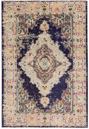 Colores COL14 Modern Bordered Rug by Asiatic