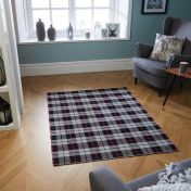 Cottage 11 E Black/Grey/Red Rug by Oriental Weavers