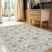Da Vinci 057 0126 6666 Beige Traditional Rug by Mastercraft