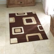 Diamond 2751 Brown Abstract Rug By Think Rugs