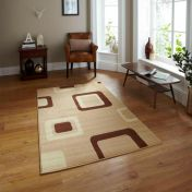 Diamond 2751 Beige Abstract Runner By Think Rugs