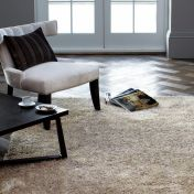 Diva Stone Shiny Polyester Rug by Asiatic
