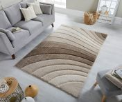 Dune Tidal Natural Geometric Rug by Flair Rugs