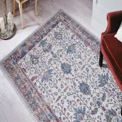 Easy Care Cypress Ivory Rug by Unique Rugs