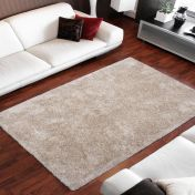 Ecuador Macas Sand Plain Shaggy Rug by Unique Rugs