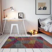 Electric Fuse Multi Abstract Rug by Flair Rugs