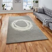 Elements EL1095 Grey Rug by Think Rugs