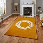 Elements EL1095 Ochre Rug by Think Rugs