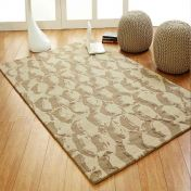 Unique Estuary Abstract Design Wool Rug by Prestige