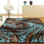Unique Evolution Abstract Design Wool Rug by Prestige